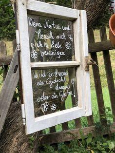 Mit Zitaten kann ich auch im Garten zum Ausdruck bringen, was ich fühle. Art Quotes, House