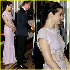 Rachel Weisz & Daniel Craig Meet the Royals at 'Skyfall' Premiere