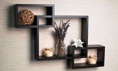 The best top 20 small shelves for wall(small wall shelves ) for your home/office interior. Photos and details of small floating wall shelves to buy online. Reclaimed Wood Floating Shelves, Wooden Wall Shelves, Box Shelves, Floating Wall Shelves, Wall Shelves Design, Wall Mounted Shelves, Hanging Shelves, Display Shelves, Glass Shelves