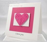 cuttlebug valentine card ideas - Google Search