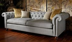 Connaught  - High Quality, Hand Crafted Leather Sofas: Darlings of Chelsea