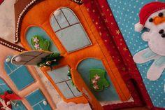"""Книжка-развивашка """"Новый год"""" (возраст 2,5+) - Рукоделие - Babyblog.ru"""