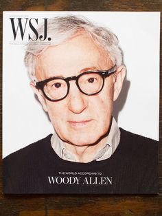 Woody Allen shot by Me for WSJ magazine… out now!