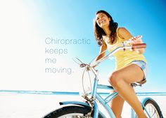 #Chiropractic keeps me moving.