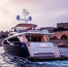 30m Kohuba (Princess Yachts) which was the largest yacht on display at the Boot Dusseldorf 2016 has been delivered to her owner.  The vessel pictured in the Grand Harbour in Malta has been styled by Olesinski together with the in-house Princess Design Studio.  Kohuba boasts contemporary exterior lines whilst her sweeping windows and shaped bulwarks provide the interior with natural light and welcoming ambience.  The superyacht's alluring amenities include an impressive flybridge and a…