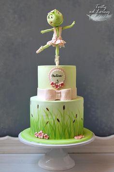 Žabka baletka torta, Autorka: Lorna, Tortyodmamy.sk