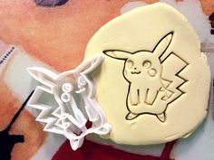 Pikachu Pokemon Cookie Cutter  Made from by StarCookies on Etsy