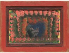 Lit de Marriage Oil on wood Howard Hodgkin, British Artists, Antique Furniture, Printmaking, Artwork, Abstract Art, Marriage, Paintings, Oil