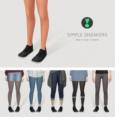 SIMPLE SNEAKERS at Kedluu // http://vaidososimmer.tumblr.com/