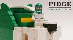 Pidge and Green lion LEGO