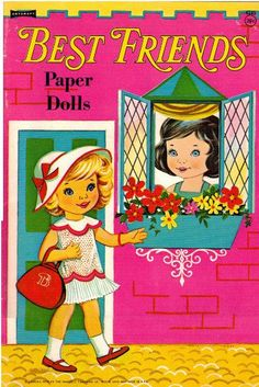 "dover paper doll by best friend | Best Friends Paper Dolls | 4 ""T"" 
