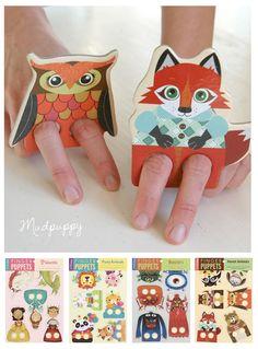 Play - Mudpuppy vingerpoppetjes - Moodkids | Moodkids