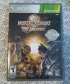 Mortal Kombat vs. DC Universe Xbox 360 Brand New Sealed