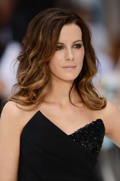 Kate Beckinsale always has incredible hair. But this is maybe my favorite of her long styles and colors yet. Pretty subtle ombré.