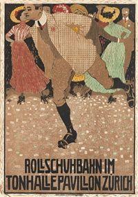 ROLLSCHUHBAHN by Burkhard Mangold
