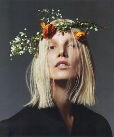 Suvi Koponen by Mert & Marcus for Vogue Paris