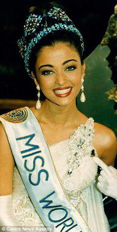 Miss World 1994 is the Bollywood sensation Aishwarya Rai...