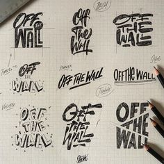 I got really inspired by to post some sketches (you should check him out 👌) . As a fan, I chose to work on 's motto in different ways. Which one is your fav ? Logo Design Tips, Graphic Design Branding, Graphic Design Posters, Logo Design Inspiration, Typography Letters, Typography Logo, Art Logo, Logos, Skateboard Logo