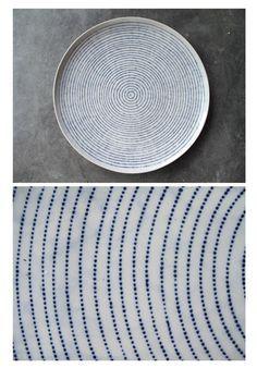 Africa | Ceramics | Blue & White | Matupo Pottery – Marjorie Wallace | Zimbabwe