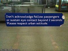 Urban Solitude = Sad World!