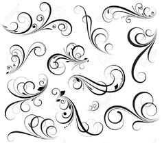 Swirls Vectors Royalty Free Cliparts, Vectors, And Stock Illustration. Image 15244421.