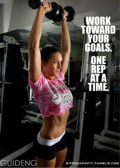 rippedandfit:    Make each rep, set, step, meal and effort count.