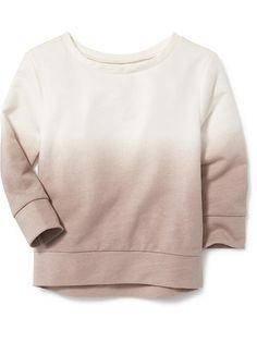 Ombre Cocoon Sweatshirt