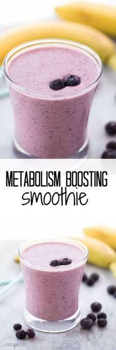A healthy breakfast or snack to boost your metabolism and fill you up! You'll … A healthy breakfast or snack to boost your metabolism and fill you up! You'll never guess my secret ingredient - Fresh Drinks Yummy Drinks, Healthy Drinks, Yummy Food, Healthy Recipes, Healthy Food, Yogurt Recipes, Healthy Detox, Healthy Eating, Best Smoothie Recipes