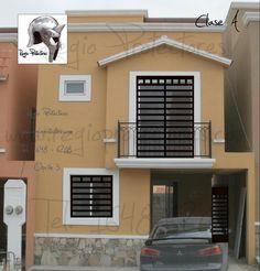 Protectores para ventanas, Fracc.Quinta San Miguel, Montaje Opción 3