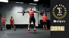 CrossFit Team Series 2016: Event 8 Demo