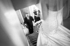 The Big Reveal - Father of the Bride. Wedding Photography