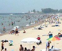 Our favorite summer destination: Lake Michigan's Silver Beach in St. Joe, MI - Rated one of the best beaches in the country.