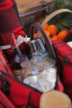 I love the idea of a winter picnic. So romantic!