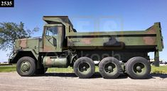 M917 20 Ton 8x6 Military Dump Truck (M915 series) Rc Trucks, Dump Trucks, Lifted Trucks, Military Engineering, Offroad, Snow Plow, Military Equipment, Commercial Vehicle, Armored Vehicles