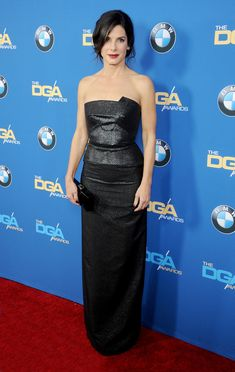 Sandra Bullock in Rouland Mouret at the 2014 Director's Guild Awards