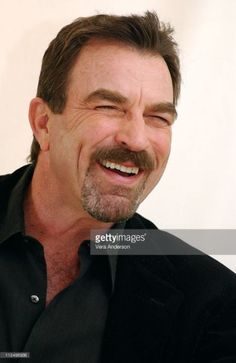 Tom Selleck during 'Stone Cold'