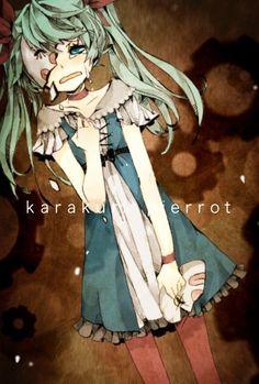 Miku Hatsune_Karakuri Pierrot