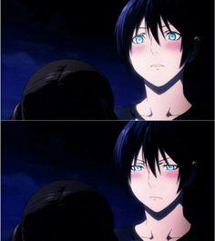 He is an astonishingly blushy~ god, huh?