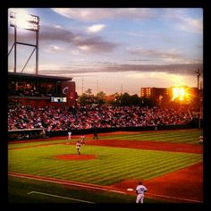 Maybe I should just take up photography... Original Caption: Your Columbus Clippers! Photo by @lauraschaller