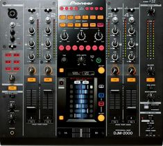 Special Offers Available Click Image Above: Pioneer Professional Dj Mixer I would love to tinker with this. Home Studio Music, House Music, Dj Setup, Gaming Setup, Dj Sound, Professional Dj, Pioneer Dj, Dj Gear, Vinyl Junkies