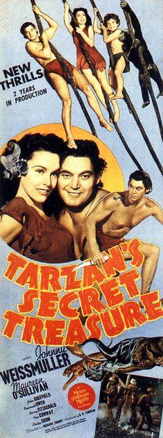 Tarzan's Secret Treasure, 5th film in the series