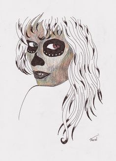 White Macabre Queen
