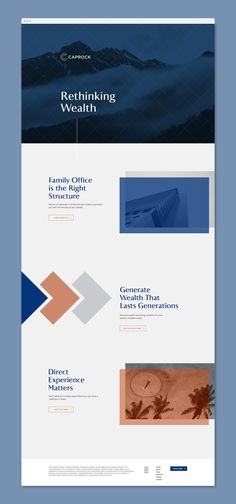Caprock is a leader in managing family wealth with their personalized, hands-on approach. Pioneers in the impact investing space, they wanted to modernize their identity and create a cohesive visual system. To revitalize this decade-old brand, we started …