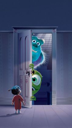 Wallpaper iphone cartoon monsters inc 41 ideas Iphone Cartoon, Cartoon Wallpaper Iphone, Disney Phone Wallpaper, Cute Wallpaper For Phone, Cute Cartoon Wallpapers, Movie Wallpapers, Tumblr Wallpaper, Wallpaper Backgrounds, Vintage Backgrounds