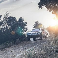 This is the Peugeot 3008 DKR MAXI... Find out more about the bigger, meaner machine, that Peugeot hope will give them another #Dakar #Rally win, on our website. (Link in bio). Photo: Flavien Duhamel >> @leisurewheels_4x4mag #travel #adventure #allterrain