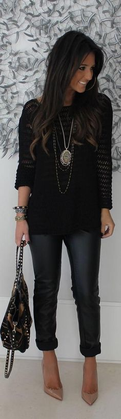 Fall Fashion 2014- black done right