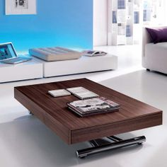 Coffee table height is very essential consideration when you want to purchase this coffee table. Coffee table is popular among the people; this table is Adjustable Height Coffee Table, Coffee Table Height, Coffee Table Legs, Adjustable Table, Cool Coffee Tables, Coffee Table Design, Modern Coffee Tables, Coffee Table Convert To Dining Table, Extendable Coffee Table