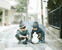 let it snow Hamada Hideaki Asian Kids, Asian Babies, Cute Kids, Cute Babies, Baby Kids, Love Photos, Baby Photos, Pose Reference, Little People