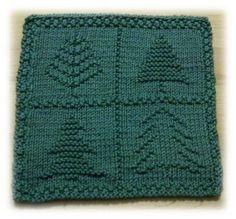 4 Trees Cloth pattern by Alli Barrett