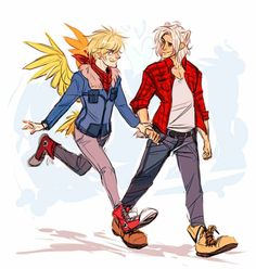Human!Gilbird and Human!Kumajiro